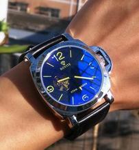 2016 Hombres mecánicos Mano de Viento relojes de primeras marcas de Moda de lujo de Negocios reloj impermeable del deporte de oro/negro de Los Hombres reloj de pulsera