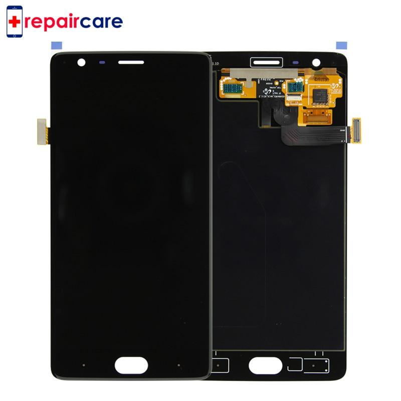 Livraison DHL 10PSC Pour OnePlus Trois A3000 A3003 LCD Écran LCD Display + Tactile Digitizer Remplacement Pour OnePlus 3 lcd avec cadre