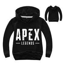 DLF 2-16Years Hot Sale Hoodie Apex Legends Hoodies Cartoon Sweatshirts Teenagers Boys Girls Casual Shirt Long Sleeves