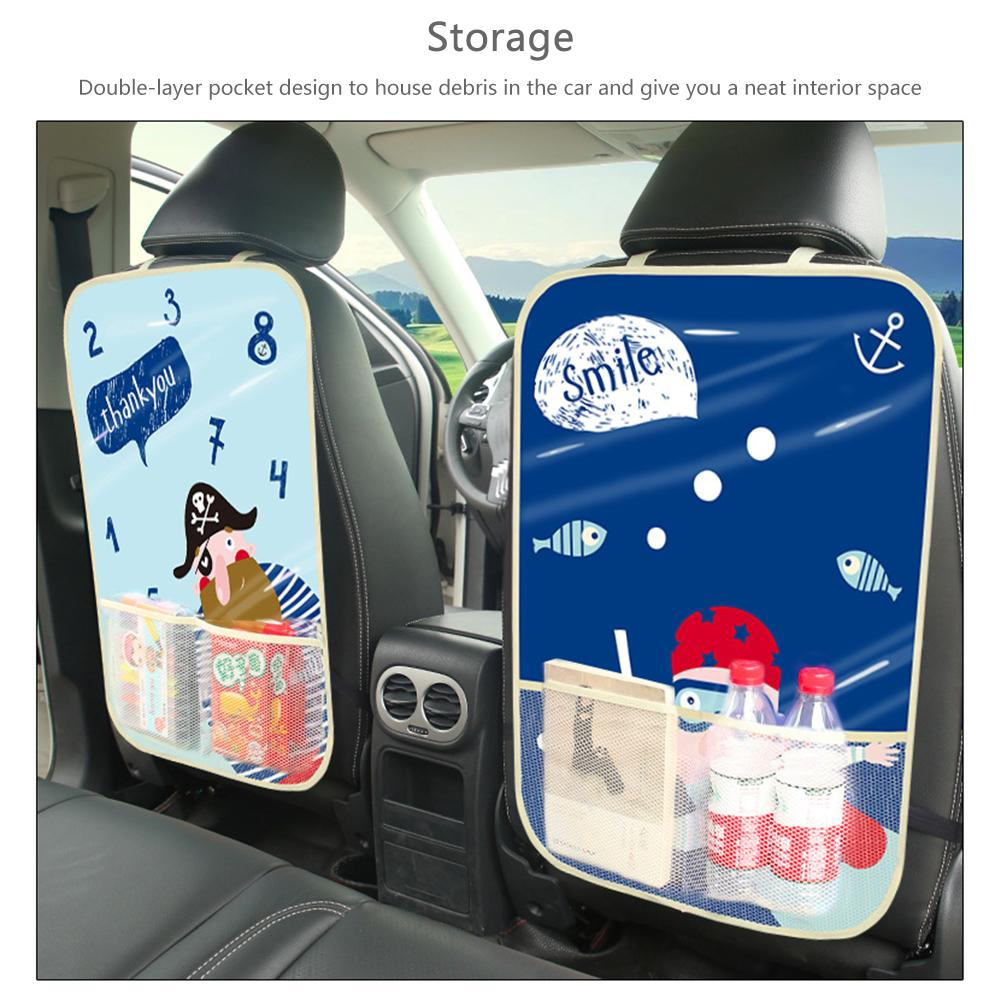 Automobile Car font b Care b font Seat Back Protector Case Cover Auto Accessaries Children Baby