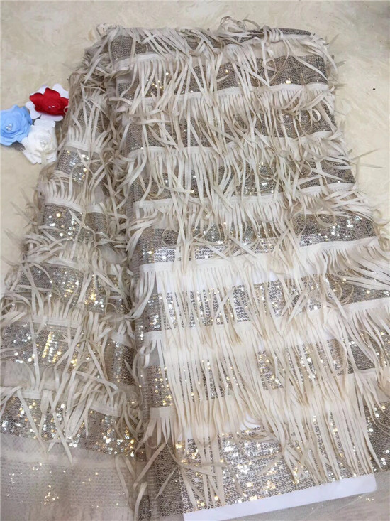 2019 Latest Nigerian Lace Fabric High Quality African Lace Fabric For Wedding Dress French Tulle Lace