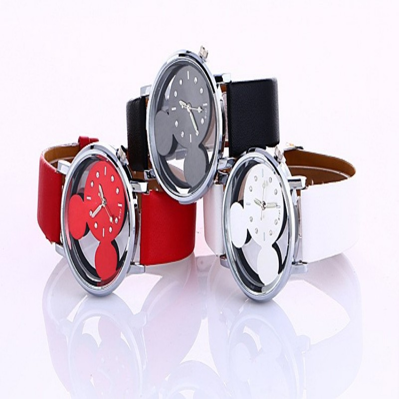 Fashion Brand Hollow Watch Neutral Personality Simple Unique Wrist Watches ladies Woman Watch Clock Relogio Feminino kol saati