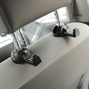 2pcs Car Back Seat Headrest Hanger Holder Hooks for BMW all series 1 2 3 4 5 6 7 X E F-series E46 E90 X1 X3 X4 X5 X6 F07 F09