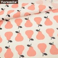 Nieuws Oranje Peren Ontwerpen 100% Katoen Twill Vet Kwart Tela Patchwork Thuis Textiel Quilten Naaien Doek Ambachten|textile roll|textile leathertextile sales -