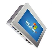 أعلى درجة بدون مروحة 10.1 بوصة جزءا لا يتجزأ من شاشة كمبيوتر تعمل باللمس لوحة الصناعية الكمبيوتر الكل في واحد جهاز كمبيوتر صغير