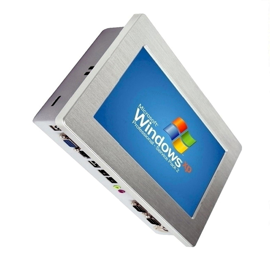 Haut grade fanless 10.1 Pouce ordinateur embarqué écran tactile industriel panel pc tout en un mini pc