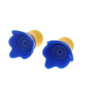 Image 5 - سدادات أذن قابلة لإعادة الاستخدام من السيليكون مزودة بخاصية إلغاء الضوضاء وسدادات أذن لحماية السمع من الطائرات