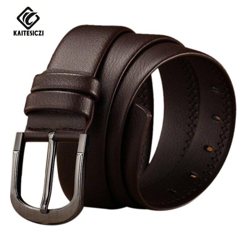 KAITESICZI belt Store [KAITESICZI] 2016 new leather tide men's leather belt male casual pin buckle belt belt men's fashion belt