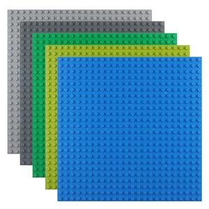 Image 4 - 50*50 punktów małe cegły DIY klocki duże płyta podstawowa 40*40 CM małe klocki klocki dla dla dzieci płyta bazowa