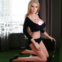 DS1046 Hot Selling High Quality OEM Accept TPE Safe Material Nude Sexy Doll Big Boobs Size Silicone Sex Doll For Men