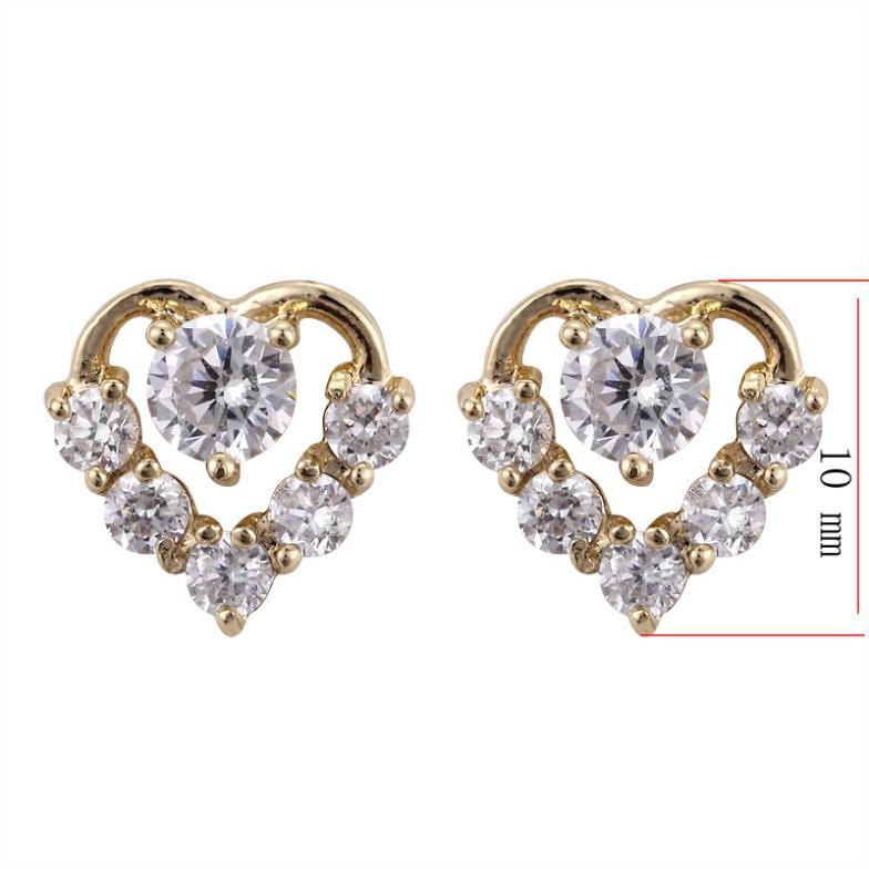 Otogo Transing EJ 0074 Wholesale classic heart design gold color ...