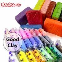 DoDoLu Retail 5*100g/bag 12 Colores DIY Maleable Fimo Arcilla del Polímero de Seguro y No Tóxico Plastilina Suave poder Juguetes Regalo para los Niños