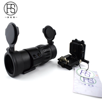 Tactical 3x Magnifier Scope Airsoft Air Gun Rifle Scope Compact Military Shooting Hunting Magnifier For 20mm Rail Rifle