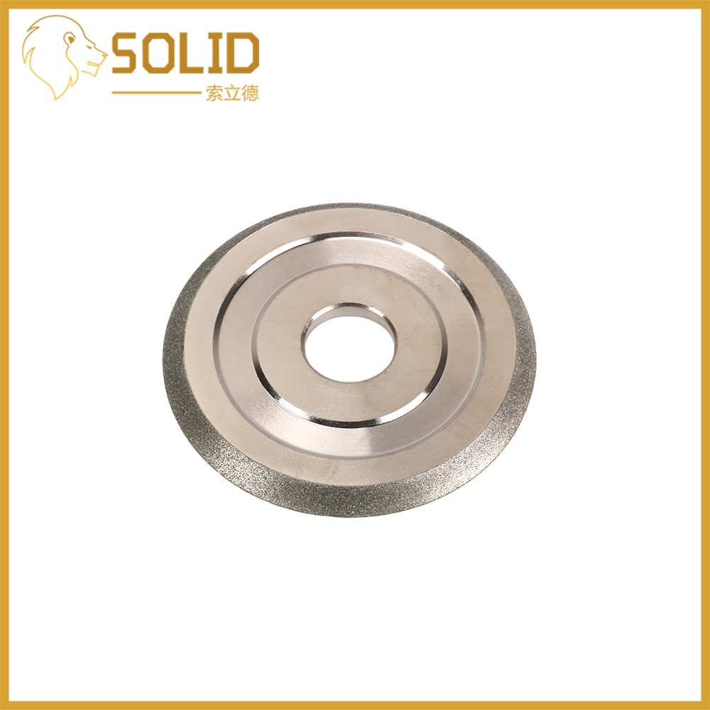 Diamond Grinding Wheel  85x20x5mm Grit150 Cutter Grinder Grinding Disc For Grinding Abrasive Cutting Tool 45 Degree Angle