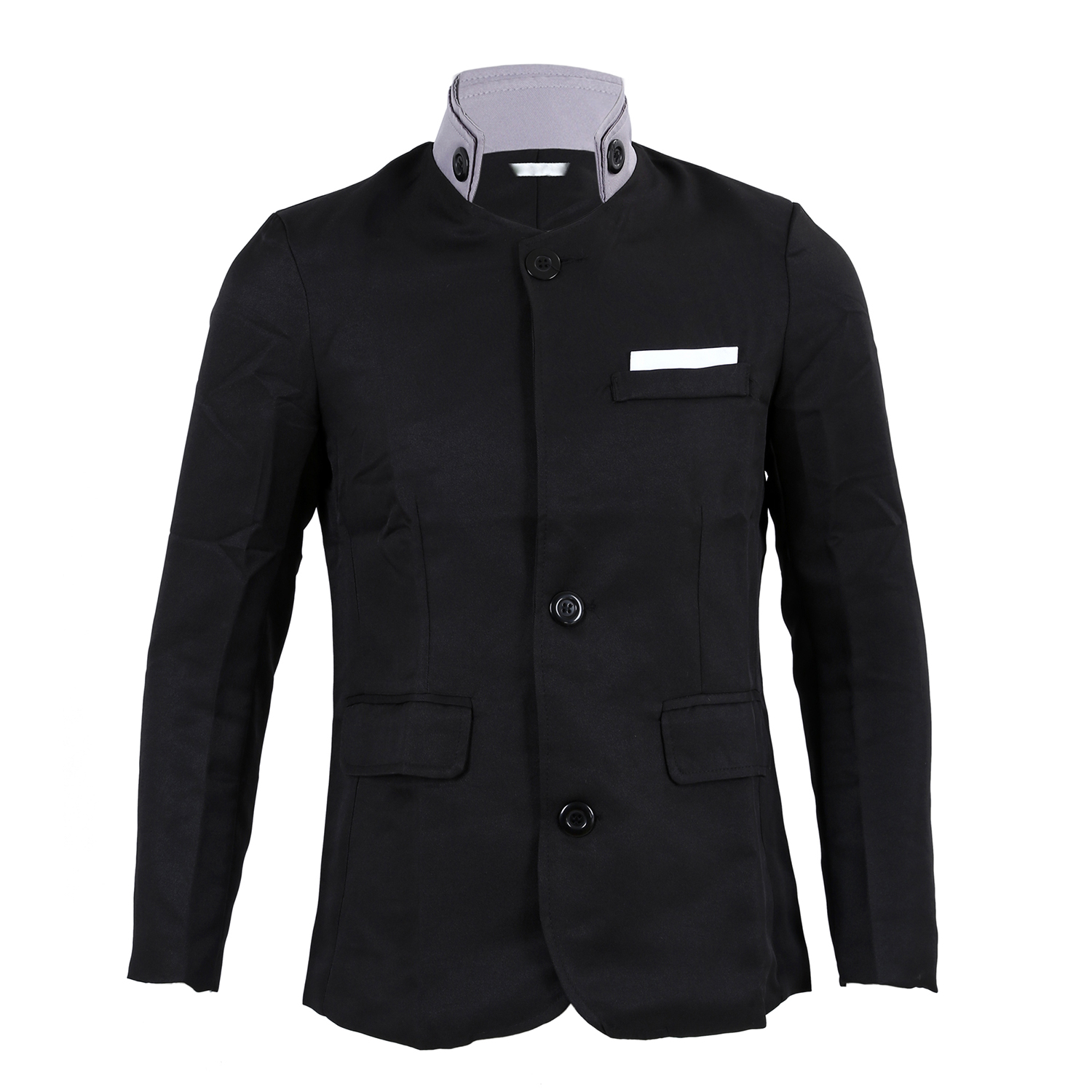 New Stylish Men's Casual Slim Fit Two Button Suit Blazer Coat Jackets