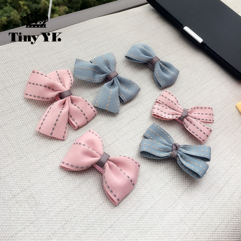 New Arrival Girl Kids Baby Bow Hairpins Bowknot Hair Clip Children Barrette Hair Accessories Full Cover Clips minnie mouse ears baby girl hair clip children clips accessories kids cute hairclip for girls hairpins hair clips pins menina