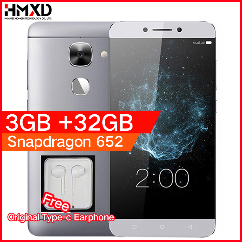 Original LeEco LeTV Le S3 X522 3GB RAM 32GB ROM Snapdragon 652 1.8GHz Octa Core 5.5 Android 6.0 4G LTE Mobile phone