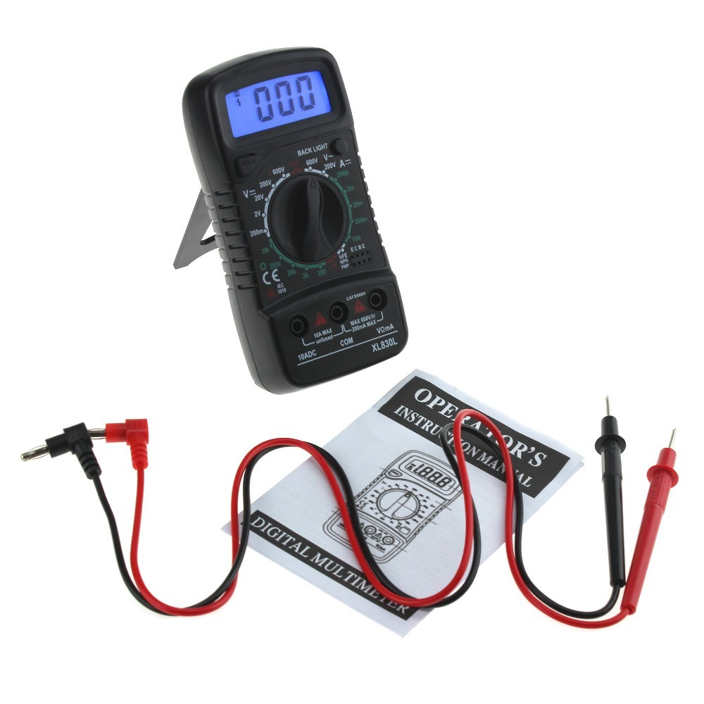 Hot Sale Xl830l Digital Multimeter Portable Multi Meter Ac Dc Details About Circuit Tester Voltmeter Voltage Ammeter Resistance Blue Backlight Volt
