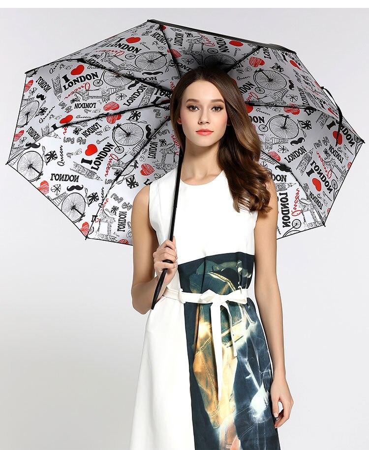 3pcs lot colour options fiberglass windproof 5 times black coating anti UV parasol pocket mini folding flying insects umbrella in Umbrellas from Home Garden