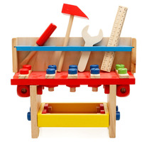 Wooden Multi Function Disassembling Screw Nut Toys Children Kids Simulation Tools Educational Learning Sets