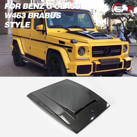 Carbon Hood For BENZ W463 G Class BRS Style Carbon Fiber Hood Ventd Body Kit Trim Tuning Accessories For W463 Racing Part