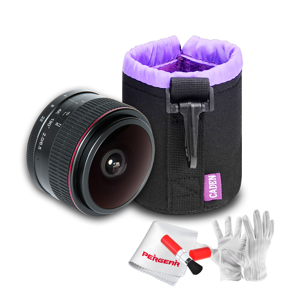 все цены на Meike MK-6.5mm-F/2.0 6.5mm Ultra Wide F/2.0 Fisheye Lens for Canon Mirorrless Camera with Caden Camera Drawstring Lens Pouch Bag онлайн