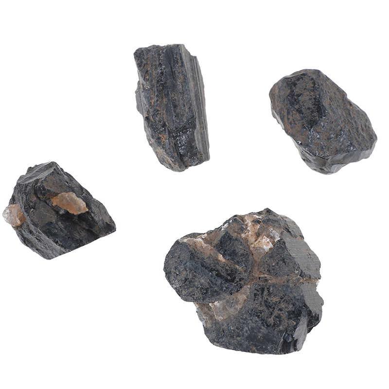 الطبيعية جوهرة حجر رقاقة الخرز شقرا الأسود التورمالين أساور للنساء حجم صغير الريكي شفاء التأمل هالة هدية