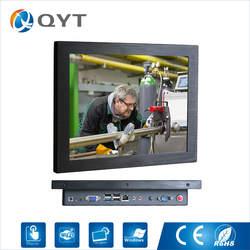 12 ''встроенный компьютер резистивный сенсорный экран Разрешение 800x600 4 ГБ ddr3 32 г ssd промышленного ПК с intel j1900