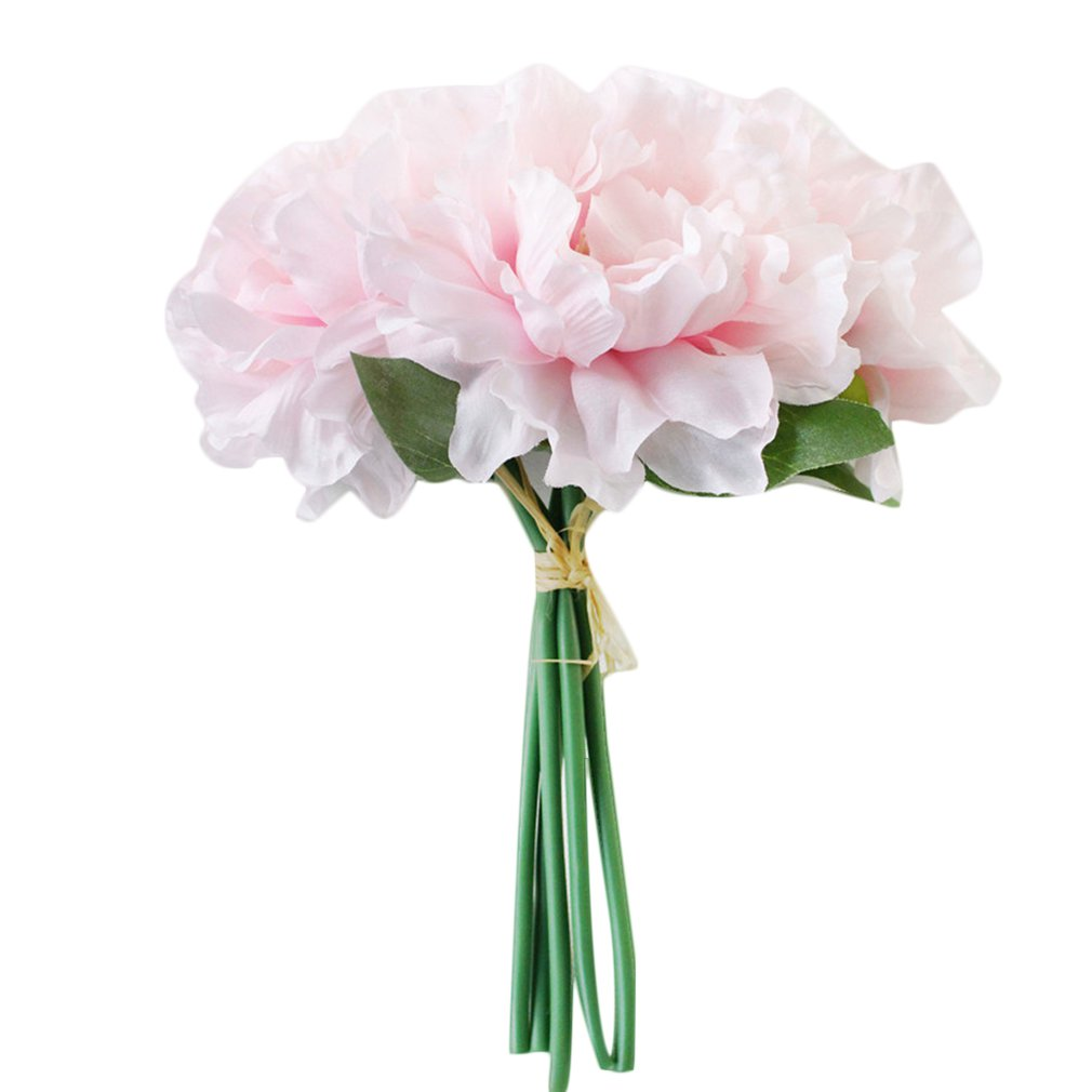 Artificial Flower Peony Bouquet Lafiza Fake Flower Wedding Bouquet Home Decoration Countertop Flower