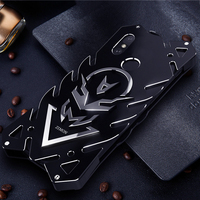 For Xiaomi RedMi Note 5 Case Luxury 3D Glitter Hard Aluminum Metal Frame Protective Back Phone Case Cover For Redmi Note 5 pro