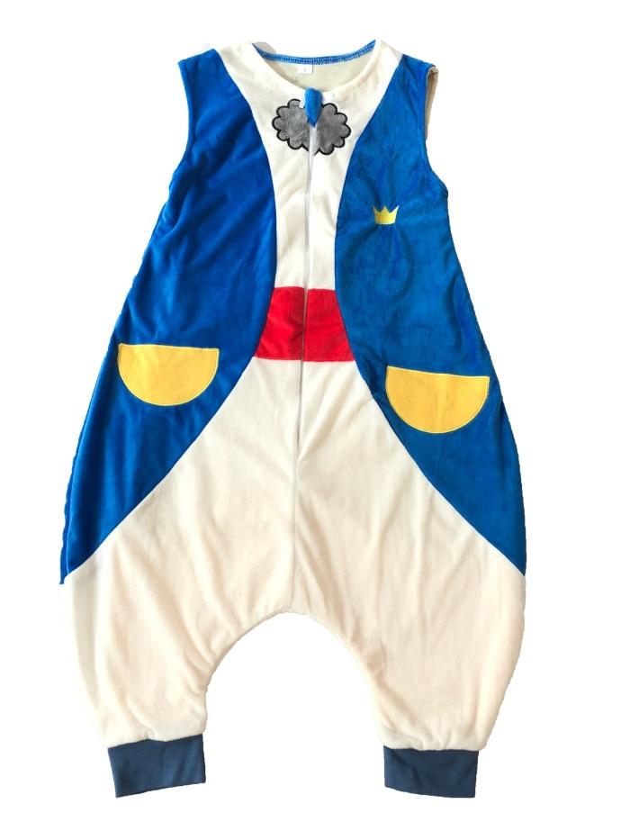 7 видов стилей; детский спальный мешок без рукавов; фланелевые пижамы для маленьких девочек с милым рисунком; спальные мешки для маленьких мальчиков - Цвет: prince