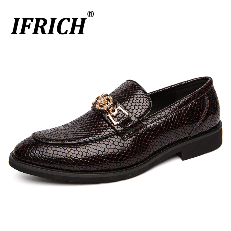 Offre spéciale chaussures habillées pour hommes marque de luxe hommes chaussures de bureau mode hommes décontracté sans lacet chaussures en caoutchouc affaires formelles hommes chaussures
