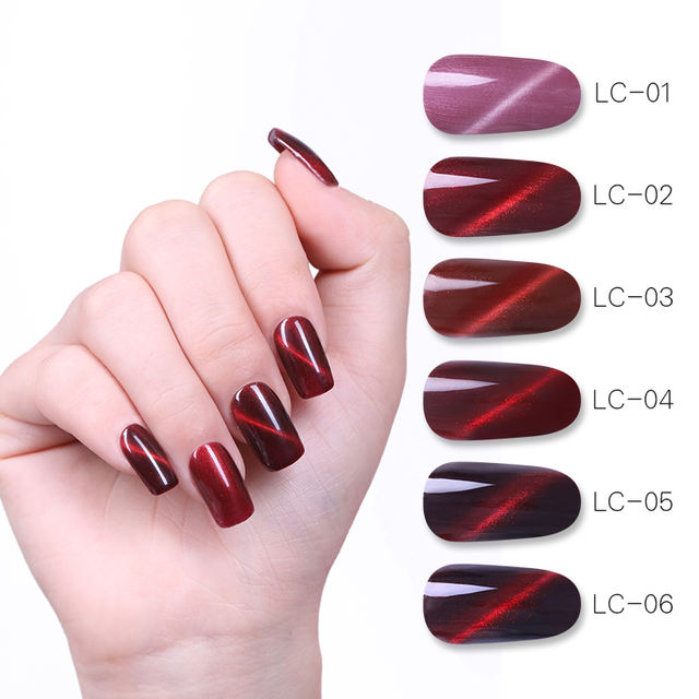 LILYCUTE 8ml  Red Series Magnetic Gel