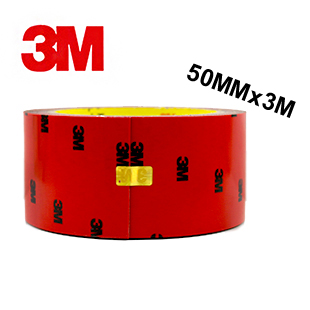 1pcs X 50mm 3m Double Sided Adhesive Strength Non Trace