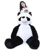 190 см панда кожа плюшевая мягкая игрушка без чучела детей милый подарок