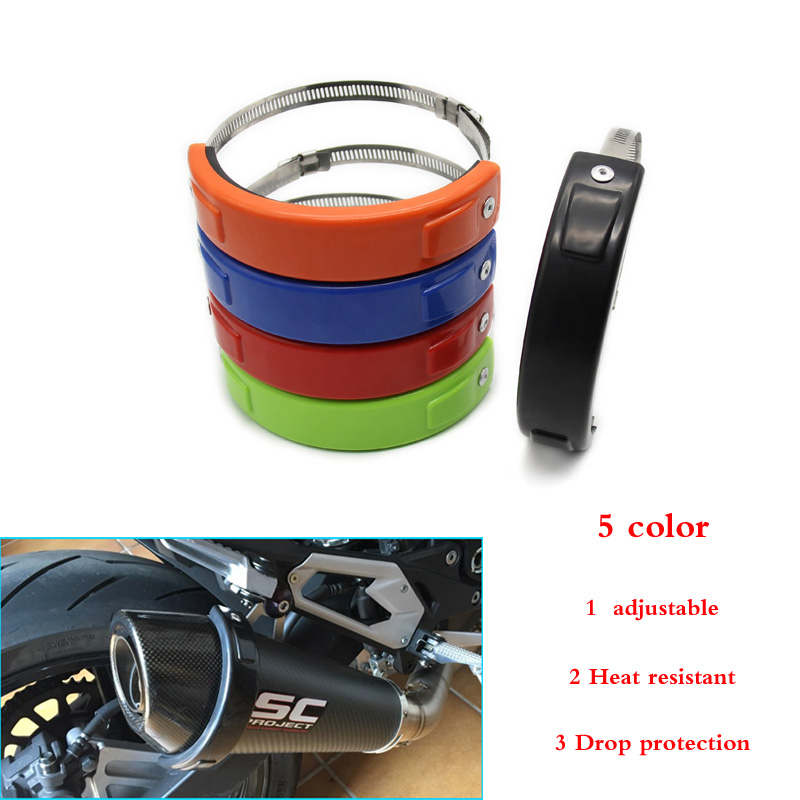For Honda Silencer protector Silencer ring Exhaust ring 5 colors
