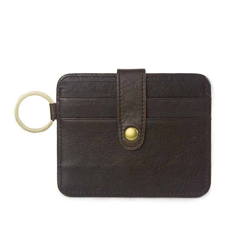 Slim Cow Leather Card Holder for Credit Card Case Porte Carte for Credit Cards Cardholder Business Bank Card Holder 01