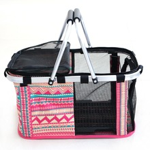 New Pet Carrier Bag Handbag Crates Kennel Luggage Oxford Hot Size Pet Dog Cat Puppy Stripe Color Portable Travel Carrier Tote