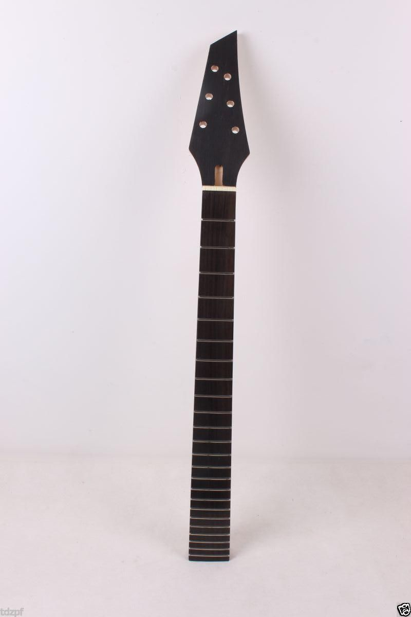 New Electric guitar neck soild wood rosewood Truss Rod 24 fret 25.5 Unfinished купить