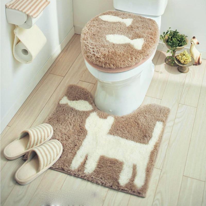 Ev ve Bahçe'ten Klozet Örtüleri'de Japonya Belle Maison Orijinal tek Evrensel Yüksek kaliteli tuvalet klozet kapağı Tuvalet kapak Sevimli tuvalet halkası Banyo Paspas'da  Grup 3