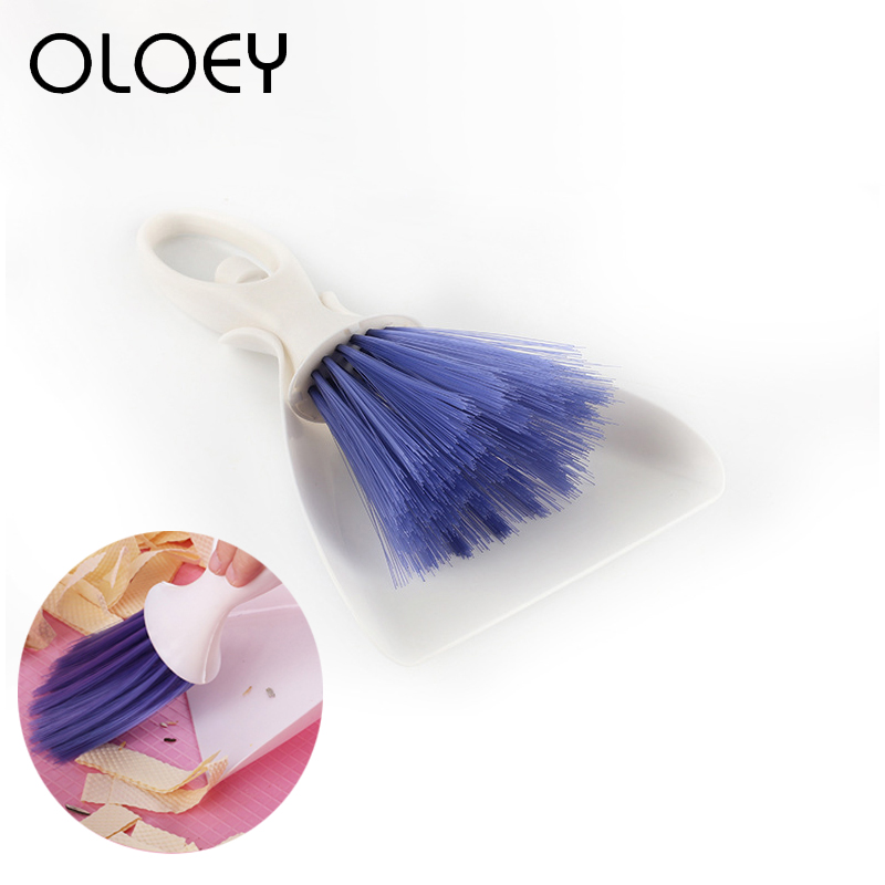 Hamster Cage Dustpan Broom Sweep Cleaning Kit For Squirrel Chinchilla Ferret Guinea Pig Rabbit Small Pet Cleaning Tool