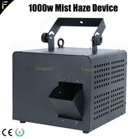 Compact 1000w Mobile Hazer Smog Machine Mist Haze Diffuser and Fog 2in1 Psychedelic Effect with Stage Lighting Mixing For Club