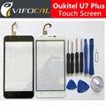 Oukitel u7 Plus pantalla Táctil + Herramientas Set de Regalo Probó Bueno Ensamblaje Del Panel de Cristal Digitalizador Reemplazo Para Oukitel u7 Plus