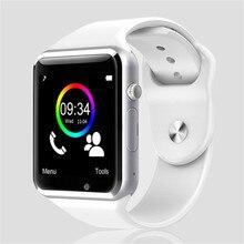 Armbanduhr Bluetooth Smart Lauf zeitnehmer Uhr Sport Pedometer Mit SIM Kamera Smartwatch Für Android Smartphone Fitness
