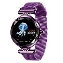 Купить с кэшбэком Women Fashion Smart Watch 2019 Blood Pressure Heart Rate Sleep Monitor Pedometer luxury ladies Smartwatch Gift for Girl