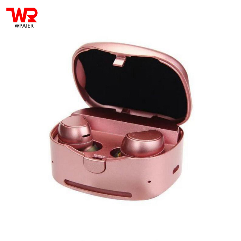 WPAIER TWS HV316T wireless Bluetooth headphones Binaural sports bluetooth mini headset Portable charging box stereo HQ Universal kz headset storage box suitable for original headphones as gift to the customer