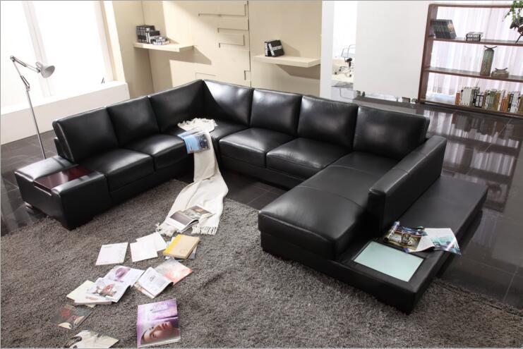 Купить с кэшбэком modern style  living room Genuine leather sofa a1291