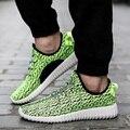 Novos Homens Sapatos Casuais Moda Respirável Sapatos Plus Size Tamanho 36-46 #62
