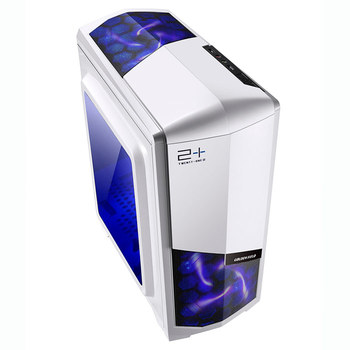 Golden Field M-ATX, Mini ITX Computer Case With Fan Steel-Plated Material Motherboard Transparent Foresight N3 White, black computer case