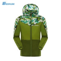 Summer Sun Protection Jacket L 4XL Beach Men Sunscreen Ultra Thin Coats Hooded Quick Dry Hiking